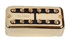 Tv Jones Power'Tron Plus Universal Mount Gold Bridge Guitar Pickup