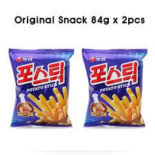 Nongshim Korean Potato Stick Snacks Popular Food Postick 84g - 2pcs