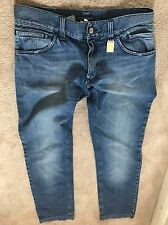 Dolce And Gabbana Men Jeans green fit Size 48  100% authentic rare plaque
