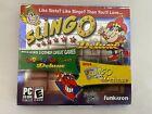 Slingo Deluxe Game Bundle Pack Mumbo Jumbo Pc Cd-rom Computer Game New