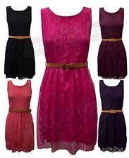 Lace Formal Floral Skater Dresses for Women