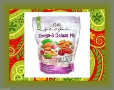 Nature's Garden Omega-3 Deluxe Nut Mix Antioxidant Healthy Snack Gluten Free