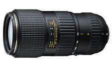 Tokina At-x 70-200mm F4 Pro FX Vcm-s for Nikon RINOWA 4 Years