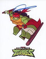 "OMAR BENSON MILLER Hand-Signed ""Rise of Teenage Mutant Ninja Turtles"" 8x10 Photo"