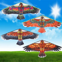 1PC Flat Eagle Bird Kite Children Flying Bird Kites Outdoor Garden Toys FT