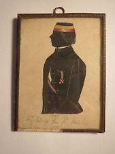 1849 - Fr. König in Couleur / Silhouette Corps Nassovia Karlsruhe ?