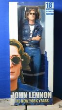 """John Lennon Beatles 'The New York Years' 18"""" Figure with Motion Activated Sound"""