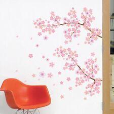 CHERRY BLOSSOM SAKURA FLOWERS WALL STICKER DECAL VINYL BRANCHES