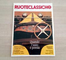 Ruoteclassiche n. 15 Febbraio 1989 Perfette Condizioni