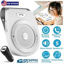 Wireless Car Visor Clip Speakerphone Auto Kit Speaker MP3 Music Player