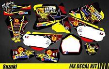 Kit Déco Moto / Mx Decal Kit Suzuki RM 65 / 85 - Protaper