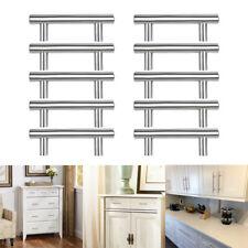 "10Pcs 4"" T Bar Knobs Stainless Steel Handles Pulls Kitchen Cabinet Door Drawer"