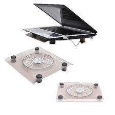 "10-13"" USB Powered Notebook Laptop Cooler Cooling Silent Fan Pad Stand Tray"