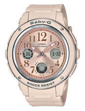 Casio Baby-g Pink Beige Color Round Series Watch Bga150cp-4b