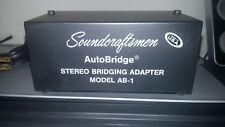 SOUNDCRAFTSMEN AB-1 STEREO BRIDGING ADAPTER