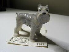 Hagen Renaker Miniature Gray Schnauzer 898 Dog Figurine Usa