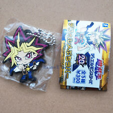 Official Yu-Gi-Oh! rubber mascot keychain - Yami Yugi 20th Anniversary *NEW*