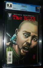 THE BOYS #4 2006 DC/Wildstorm Comics CGC 9.8 NM/MT White Pages