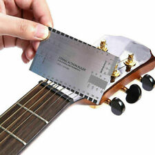 Top Guitar String Action Gauge Ruler Guide Setup and Bass Luthier Measuring Tool
