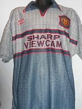 Manchester United Away Football Shirt Jersey (1995/1996) xl men's #58