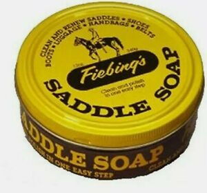 1 CAN 3.5 oz Saddle Soap Yellow Cleaner Preservative Brooks PROOFIDE
