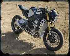 BMW S1000Rr Orlando 02 A4 Foto Impresión moto antigua añejada De