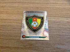 #392 Camerún insignia con el logotipo PANINI WORLD CUP 2010 Swiss Gold Edition Pegatina