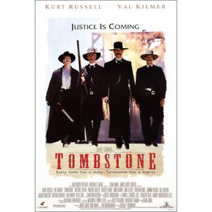 "Tombstone – Movie Poster – Justice Is Coming Wyatt Earp – 91 x 61 cm 36"" x 24"""