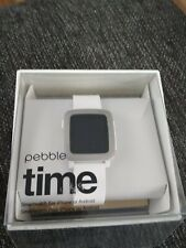 Pebble Watch Weiss