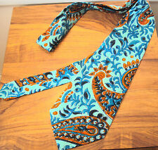 Neck Tie 1970s 100% Silk Vintage Ties