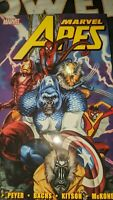 Marvel Apes by Karl Kesel & Ramon Bachs Marvel Deluxe OHC Hardcover Premiere