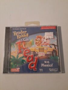 Reader Rabbit: I Can Read! With Phonics PC MAC CD Kids Learn Words Vowels New