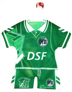 Mini-Trikot Kit Kaiserslautern #095 Betzenberg Fussball Trikot fürs Auto