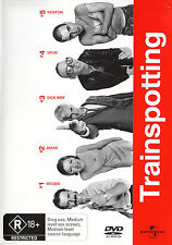 Trainspotting (DVD, 1999) Region 4 Brand New & Sealed