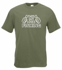 Patternless Fishing Loose Fit T-Shirts for Men