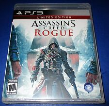 Assassin's Creed: Rogue -- Limited Edition Sony PlayStation 3 Sealed! Free Ship!