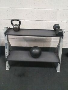 Body Solid Kettlebell weights Rack/Storage