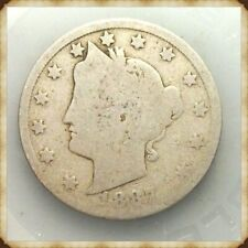 """1887 Liberty Nickel  """"Actual Coin Pictured"""""""