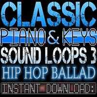 PIANO,KEYS,RHODES,SOUNDS WAV LOOP SAMPLES 3 Hip Hop Ballad Akai Reason Fl Studio