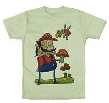 Mario & Mega Mushroom T Shirt Design