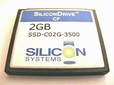 2GB Compact Flash Card ( 2 GB CF Karte ) SiliconDrive gebraucht