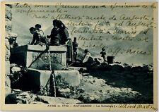 Cartolina Ayas m. 1710 - Antagnod - La Fontana Viaggiata