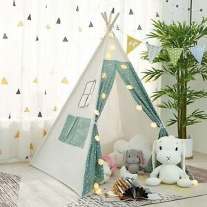 1.6 M Large Teepee Tents For Kids Play Tents Childs Home Games Baby Toys Wigwam