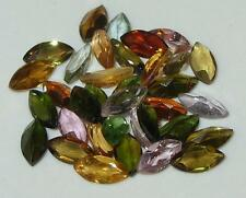 8ct LOT 35pcs ASSORTED COLOR BRAZIL TOURMALINE MARQUISE 6x3mm SPECIAL