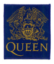 QUEEN Woven Patch CLASSIC CREST ♪ gewebter Aufnäher ♫ Freddy Mercury ♪ Rock ♫