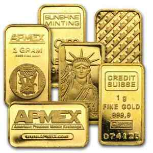 1 gram Gold Bar - Secondary Market