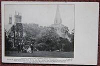 Early 1900's Hursley Church and Vicarage Nr Winchester Postcard Hampshire Hants