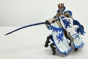 PAPO Knights Blue Dragon King's Horse Figure 2004