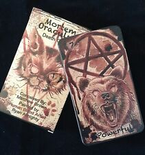 Mortem Oraculum Oracle Deck - Originally Painted With Human Blood - Tarot