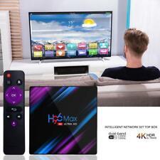 H96 Max Android 9.0 4GB 32GB quad-core 4K lecteur multimédia WiFi smart TV box